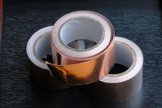 Self ashesive copper bands