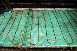 Heated propagation mat.